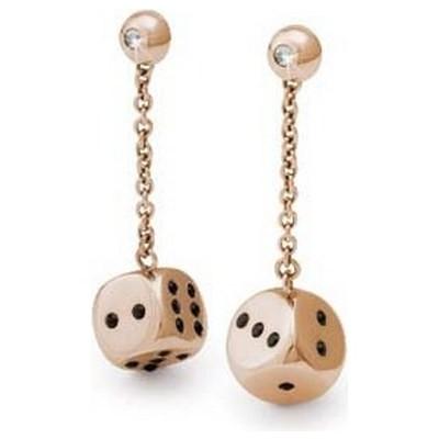 boucles d'oreille femme bijoux Brosway Chance BCH12