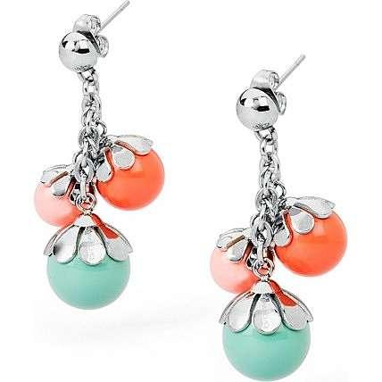 boucles d'oreille femme bijoux Brosway Fleur BFE21
