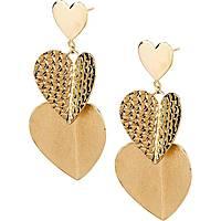 boucles d'oreille femme bijoux Brosway Heart Beat BHB21