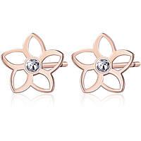 boucles d'oreille femme bijoux Brosway Ikebana BKE26