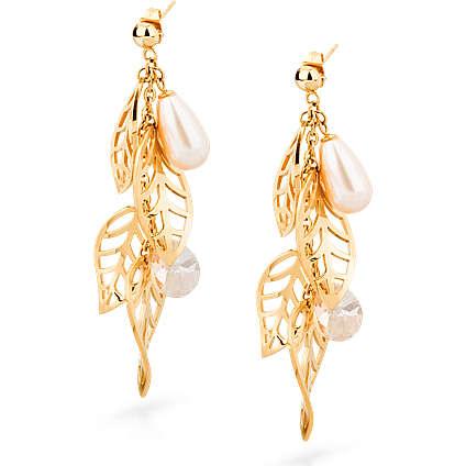 boucles d'oreille femme bijoux Brosway LEAVES BLS22