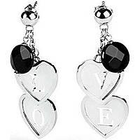 boucles d'oreille femme bijoux Brosway Lovecharm BLH03
