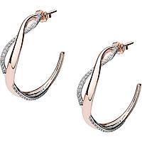 boucles d'oreille femme bijoux Brosway Mini Ribbon BBN24