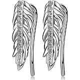 boucles d'oreille femme bijoux Brosway Plume BUM23