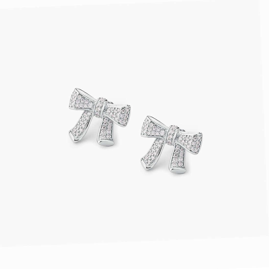 boucles d'oreille femme bijoux Brosway Rosette BEE22