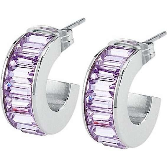 boucles d'oreille femme bijoux Brosway Tres Jolie BTJE07