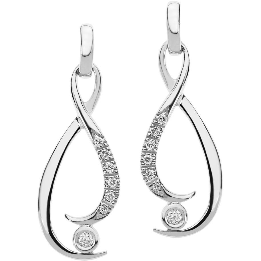 boucles d'oreille femme bijoux Comete Diamanti ORB 781