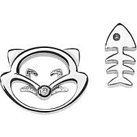 boucles d'oreille femme bijoux Comete Fantasie di diamanti ORB 763