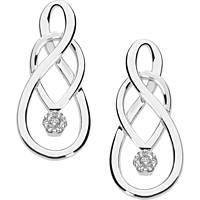 boucles d'oreille femme bijoux Comete Fantasie di diamanti ORB 847