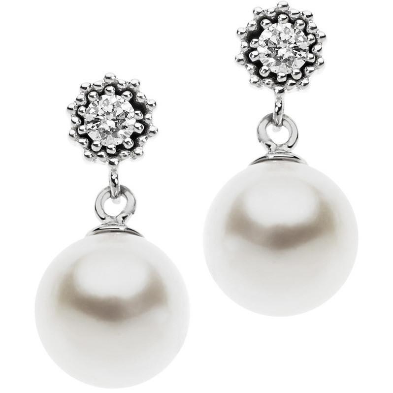 boucles d'oreille femme bijoux Comete Fantasie di diamanti ORP 580