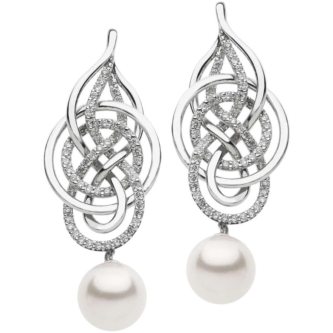 boucles d'oreille femme bijoux Comete Fantasie di perle ORP 597