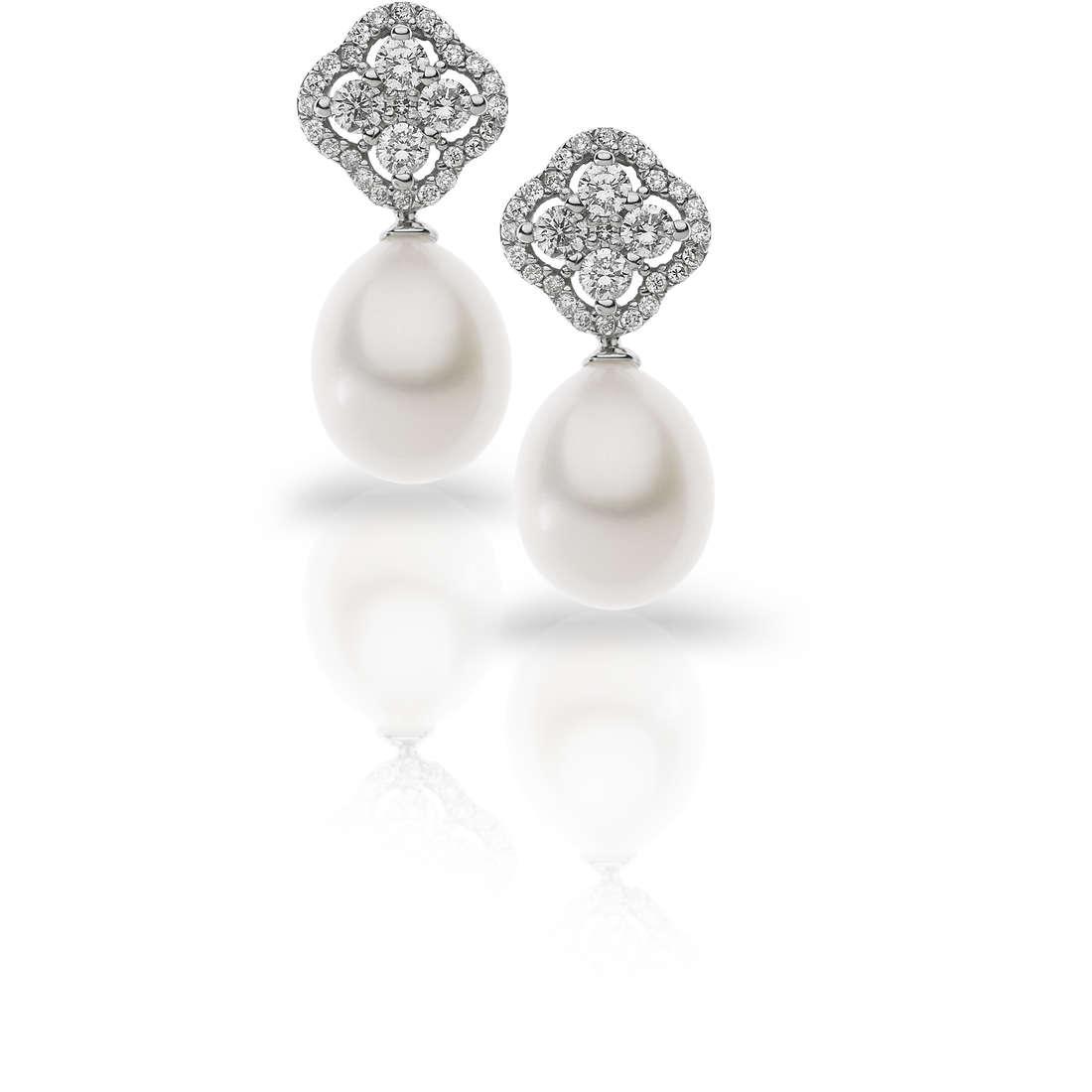 boucles d'oreille femme bijoux Comete Flora ORP 583