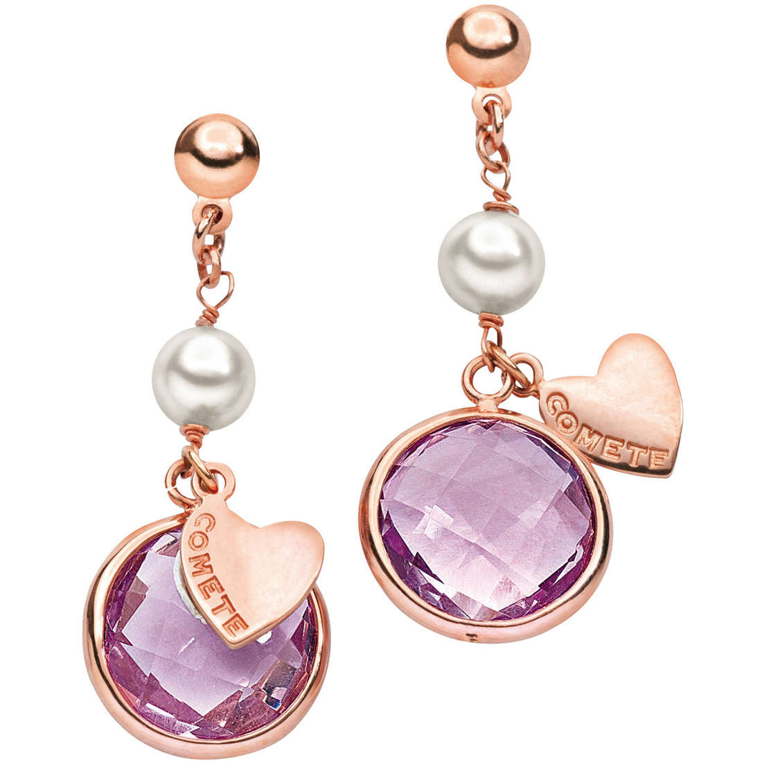 boucles d'oreille femme bijoux Comete ORP 437