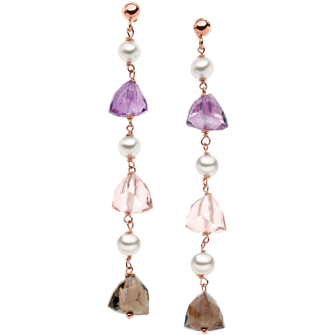 boucles d'oreille femme bijoux Comete Perla ORB 601
