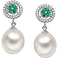 boucles d'oreille femme bijoux Comete Perla ORP 476