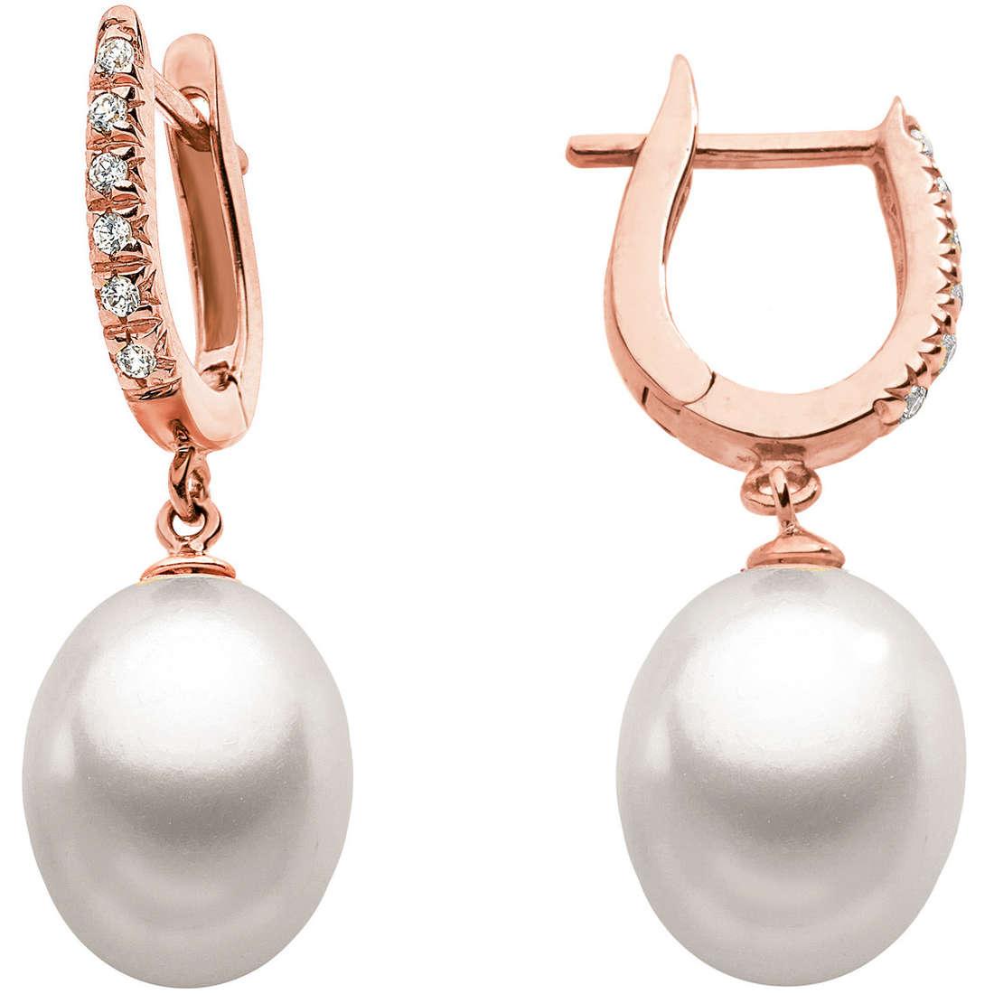 boucles d'oreille femme bijoux Comete Perla ORP 482