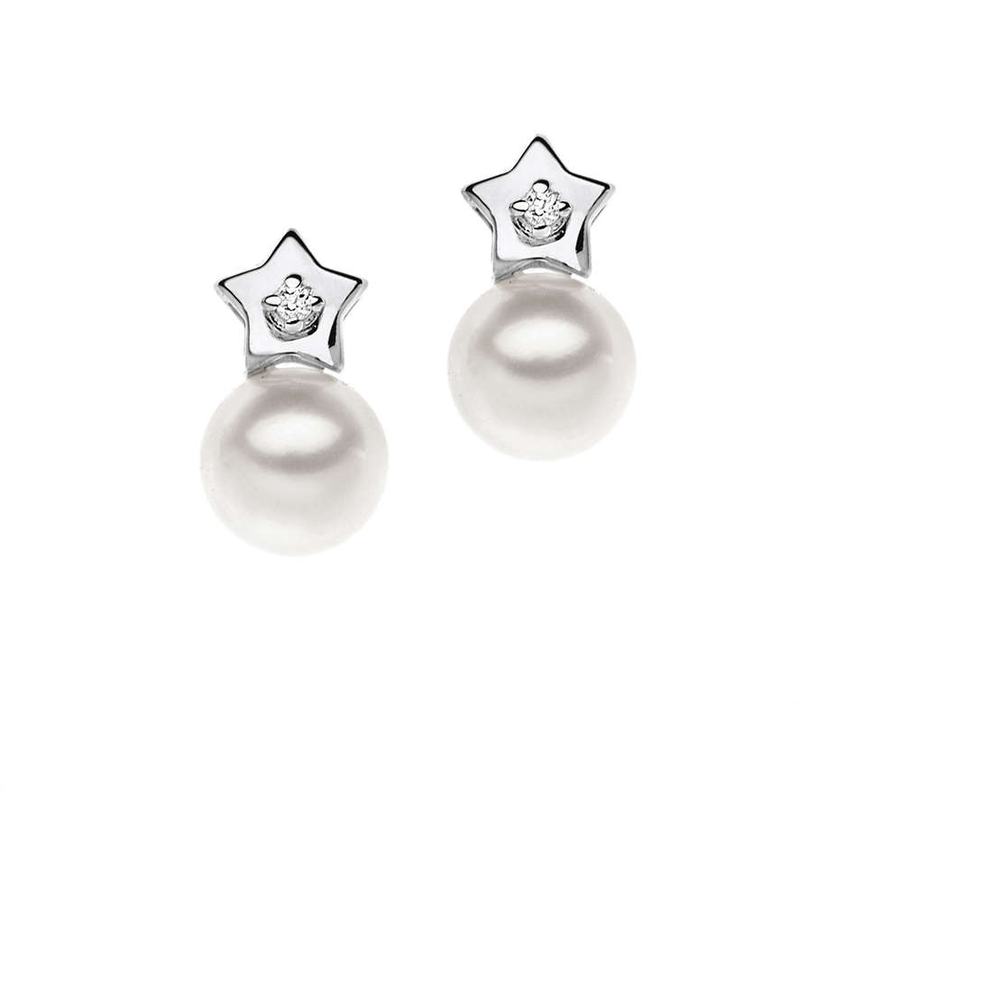 boucles d'oreille femme bijoux Comete Perla ORP 526