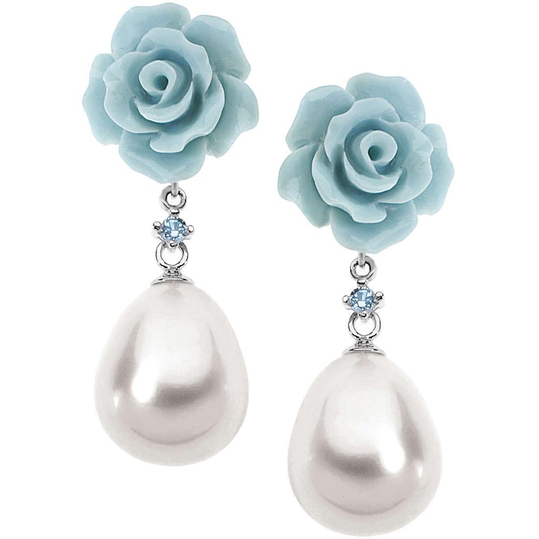 boucles d'oreille femme bijoux Comete Perla ORP 540