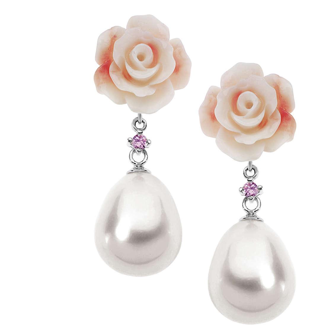 boucles d'oreille femme bijoux Comete Perla ORP 541