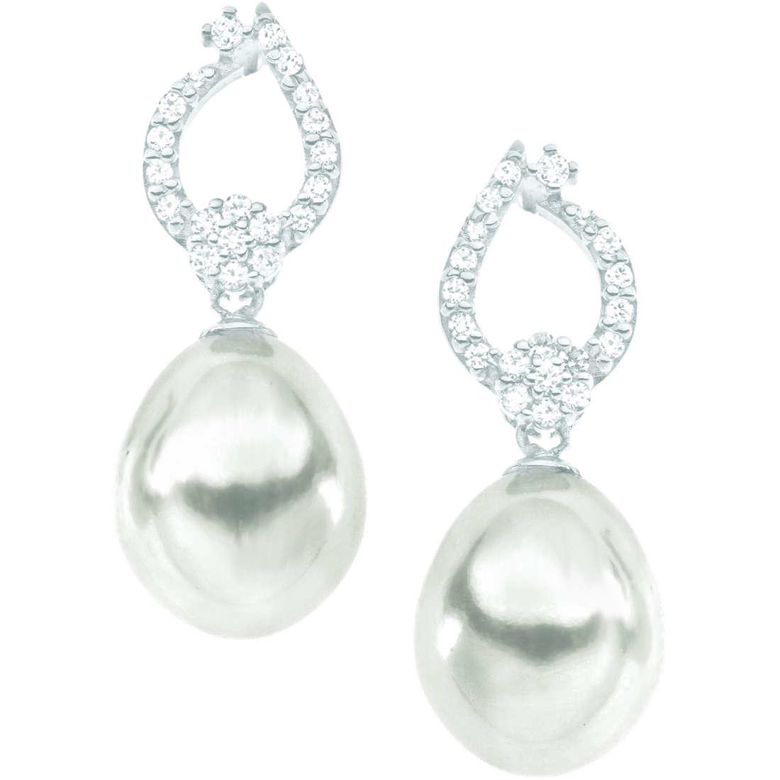 boucles d'oreille femme bijoux Comete Perla ORP 549