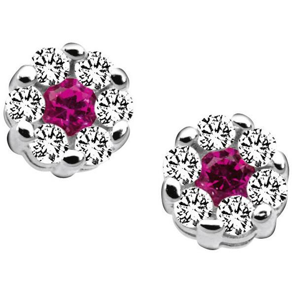 boucles d'oreille femme bijoux Comete Pietre preziose colorate ORB 521