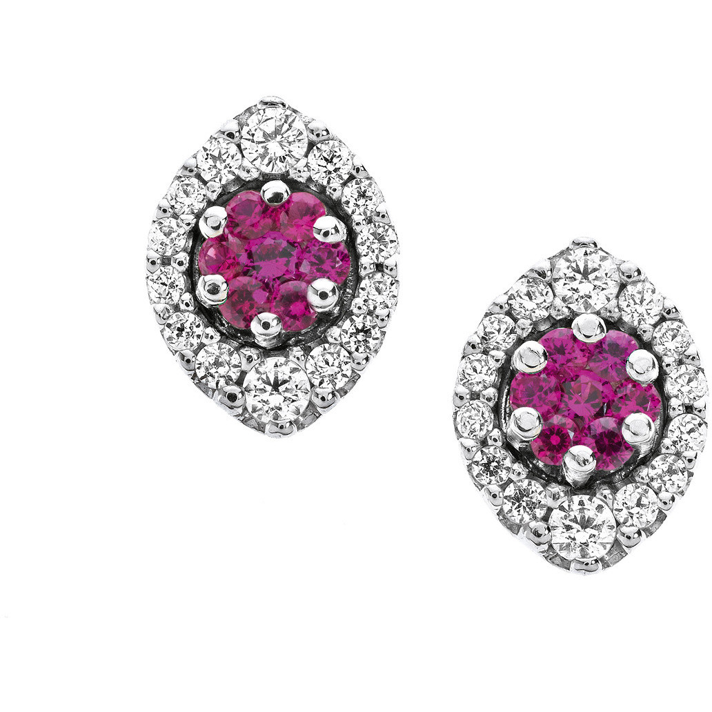 boucles d'oreille femme bijoux Comete Pietre preziose colorate ORB 612
