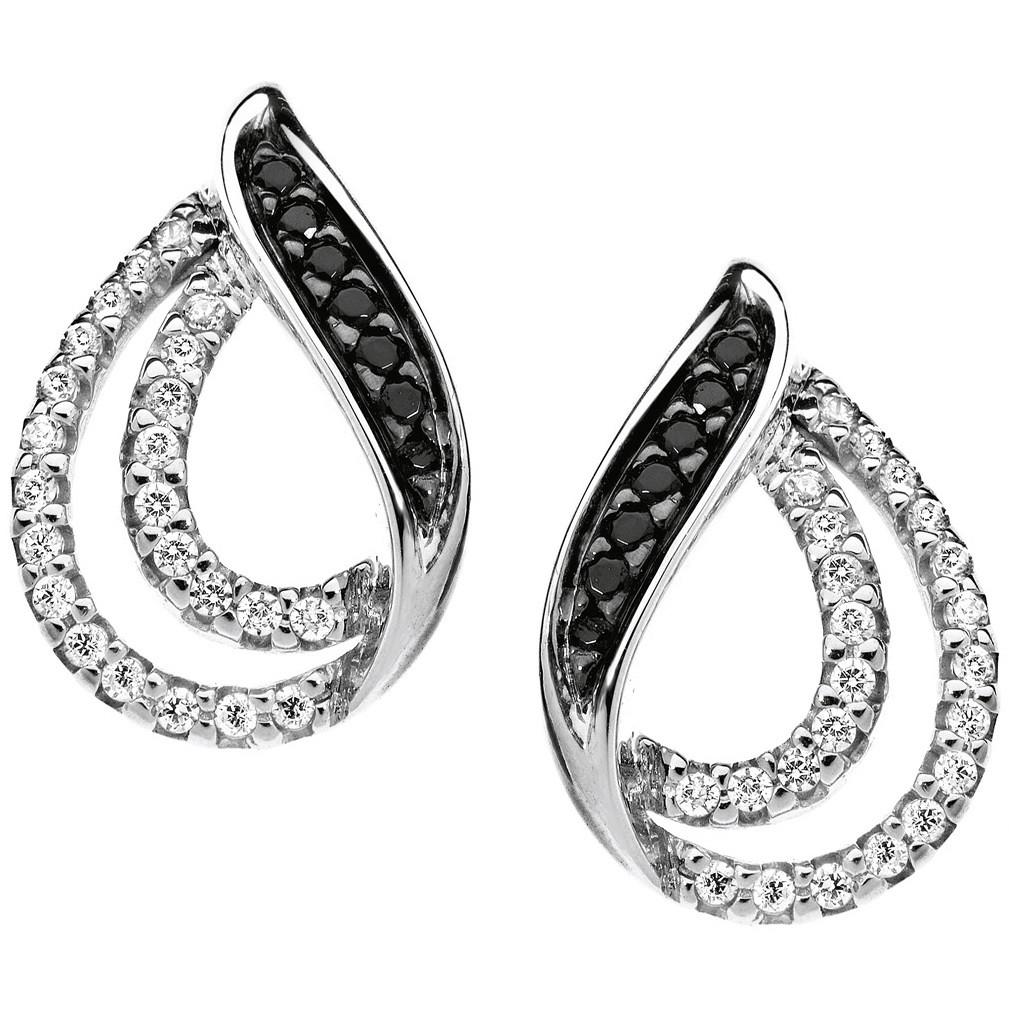 boucles d'oreille femme bijoux Comete Pietre preziose colorate ORB 624