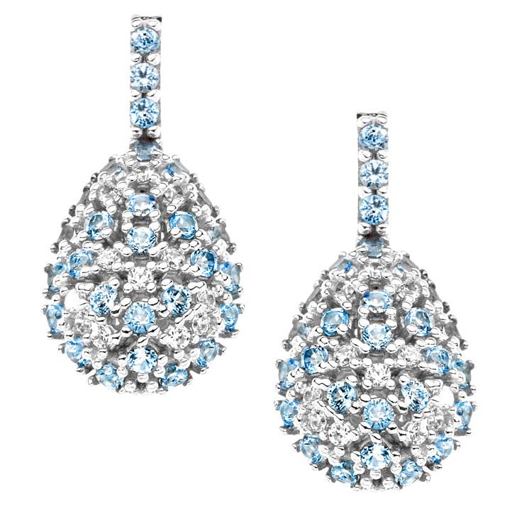 boucles d'oreille femme bijoux Comete Pietre preziose colorate ORB 667