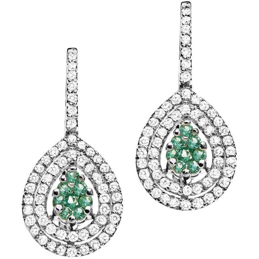 boucles d'oreille femme bijoux Comete Pietre preziose colorate ORB 678