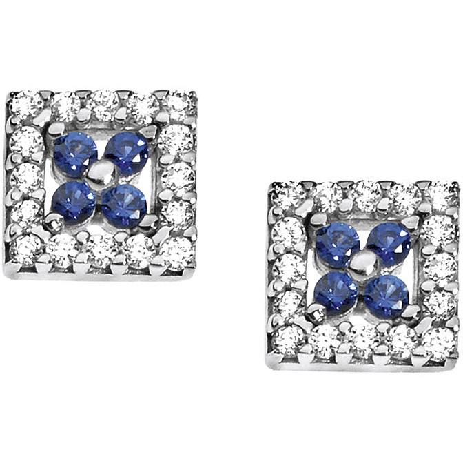 boucles d'oreille femme bijoux Comete Pietre preziose colorate ORB 681