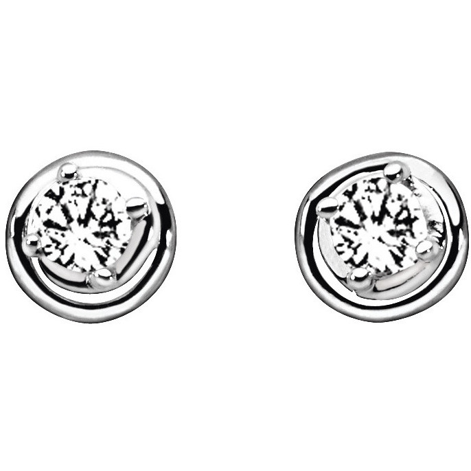 boucles d'oreille femme bijoux Comete Punto luce ORB 554