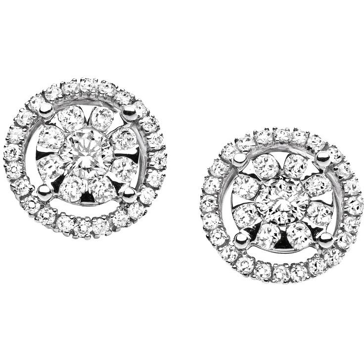 boucles d'oreille femme bijoux Comete Punto luce ORB 668