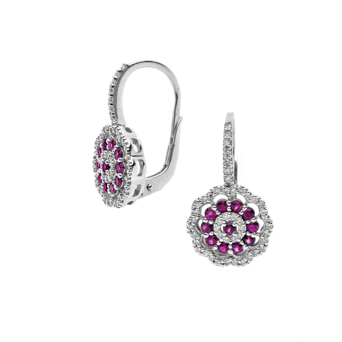 boucles d'oreille femme bijoux Comete Vittoria ORB 727
