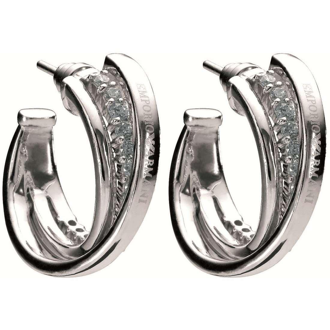 boucles d'oreille femme bijoux Emporio Armani EG2732040