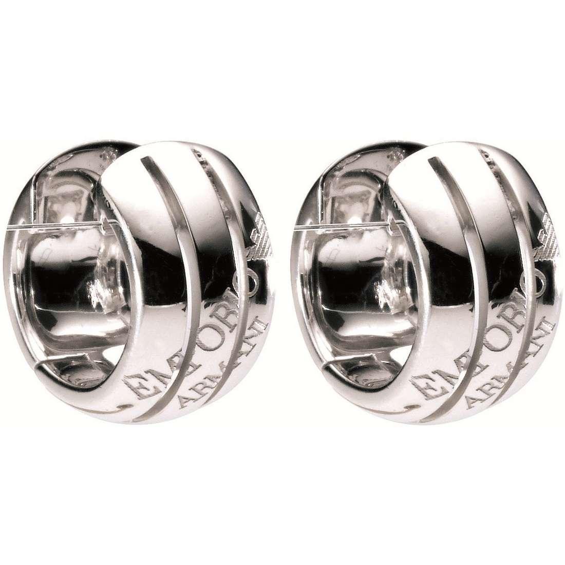boucles d'oreille femme bijoux Emporio Armani EG2737040
