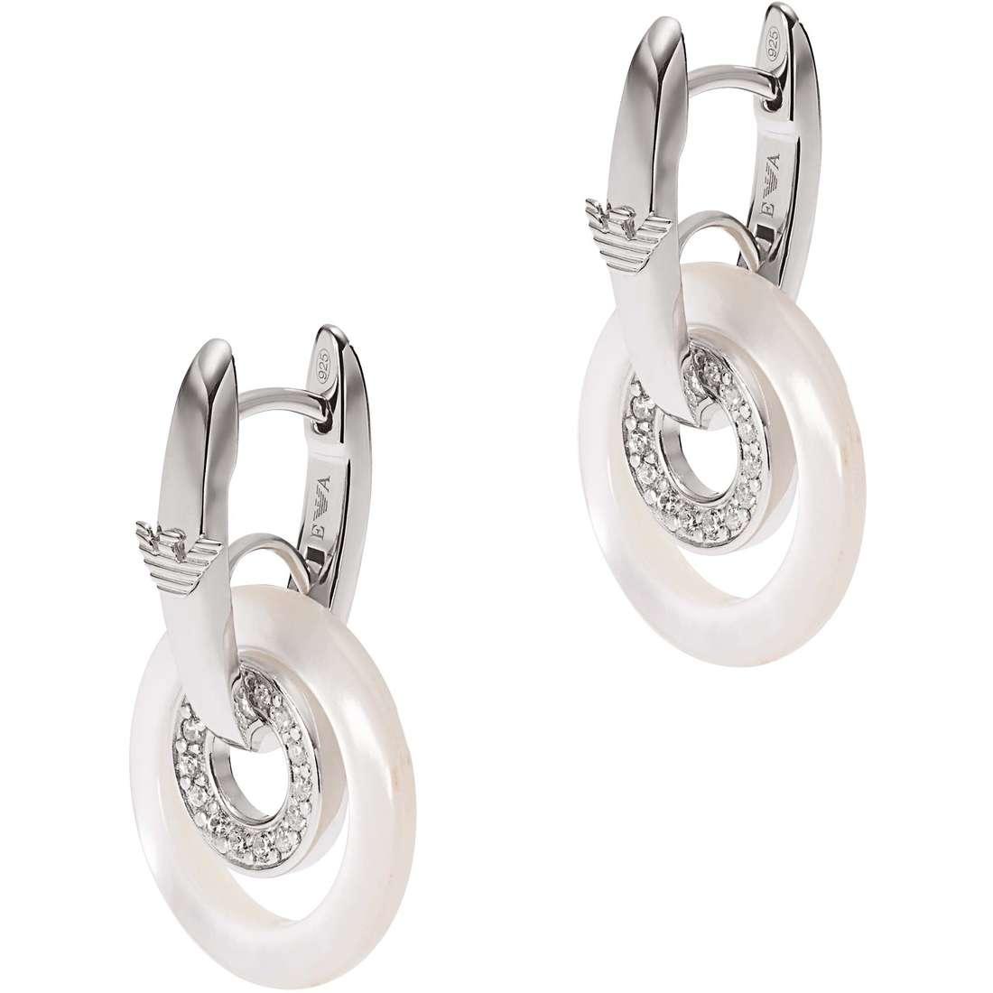 boucles d'oreille femme bijoux Emporio Armani EG3118040