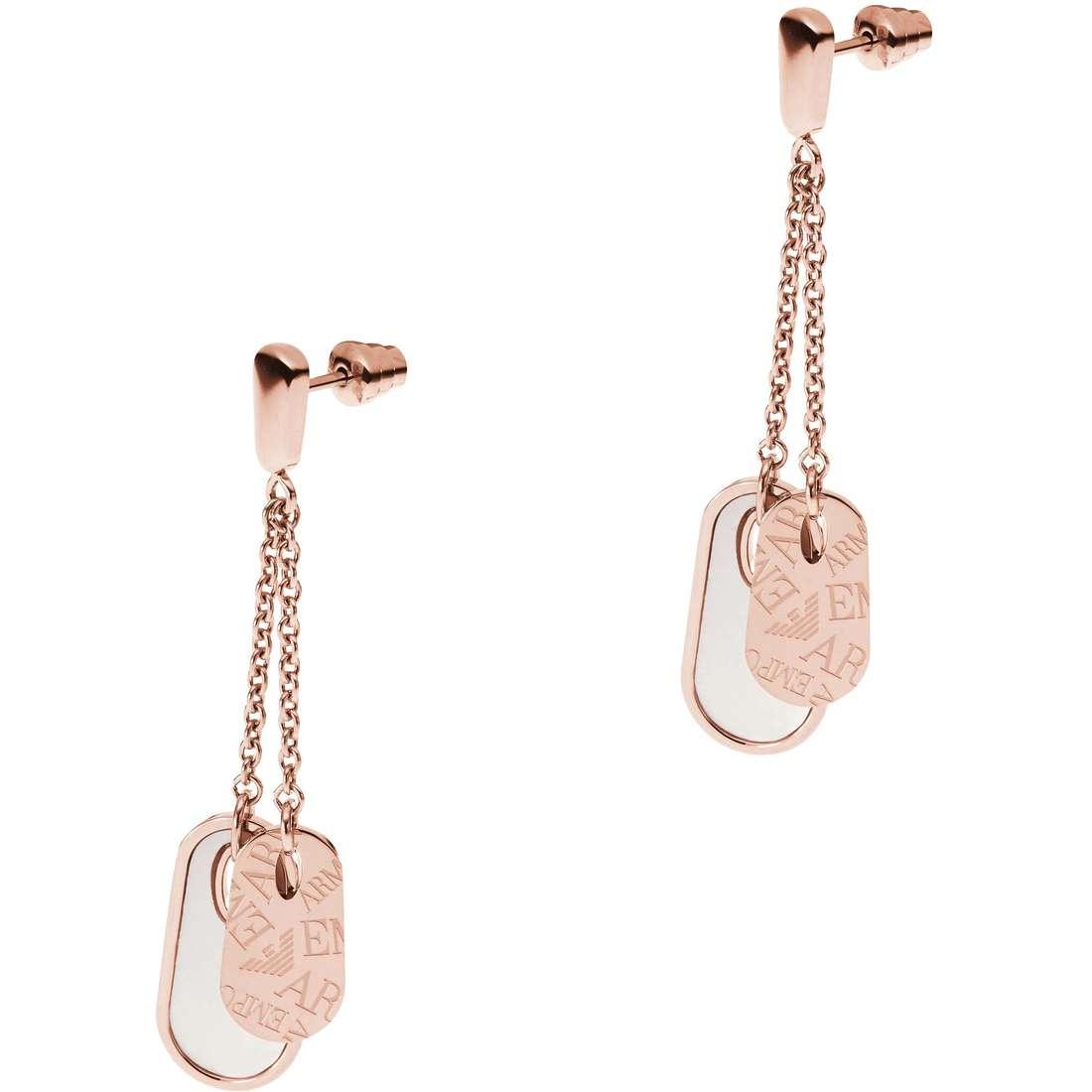 boucles d'oreille femme bijoux Emporio Armani EGS1871221