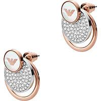 boucles d'oreille femme bijoux Emporio Armani EGS2364040