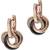 boucles d'oreille femme bijoux Emporio Armani Fall 2013 EG3080221