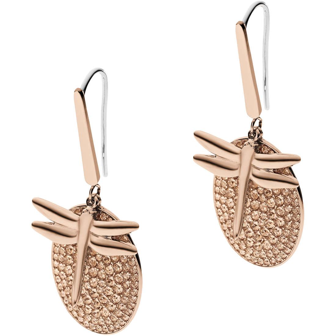 boucles d'oreille femme bijoux Emporio Armani Fall 2013 EGS1784221