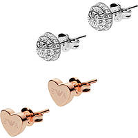 boucles d'oreille femme bijoux Emporio Armani Stelle EG3327040