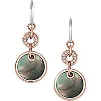 boucles d'oreille femme bijoux Fossil Fall 14 JF01415791