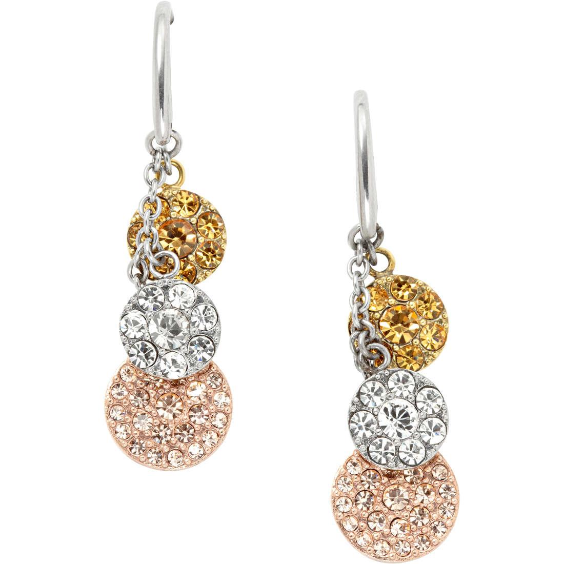 boucles d'oreille femme bijoux Fossil Fall 2013 JF00832998