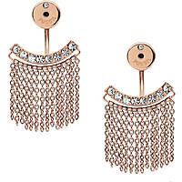 boucles d'oreille femme bijoux Fossil Fashion JF02396791