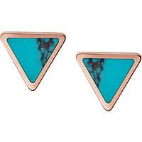 boucles d'oreille femme bijoux Fossil Fashion JF02638791