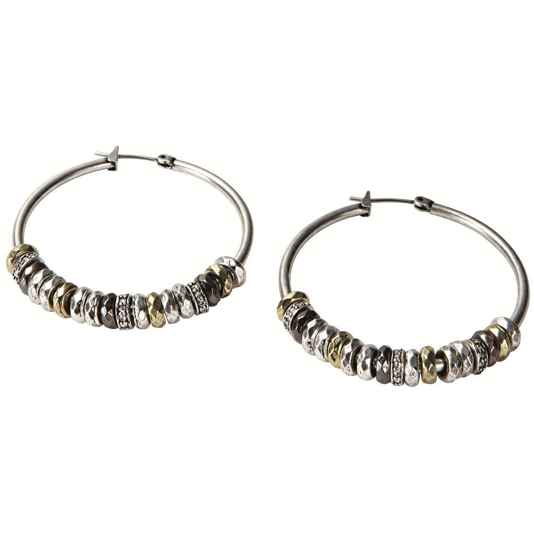 boucles d'oreille femme bijoux Fossil JA3656040