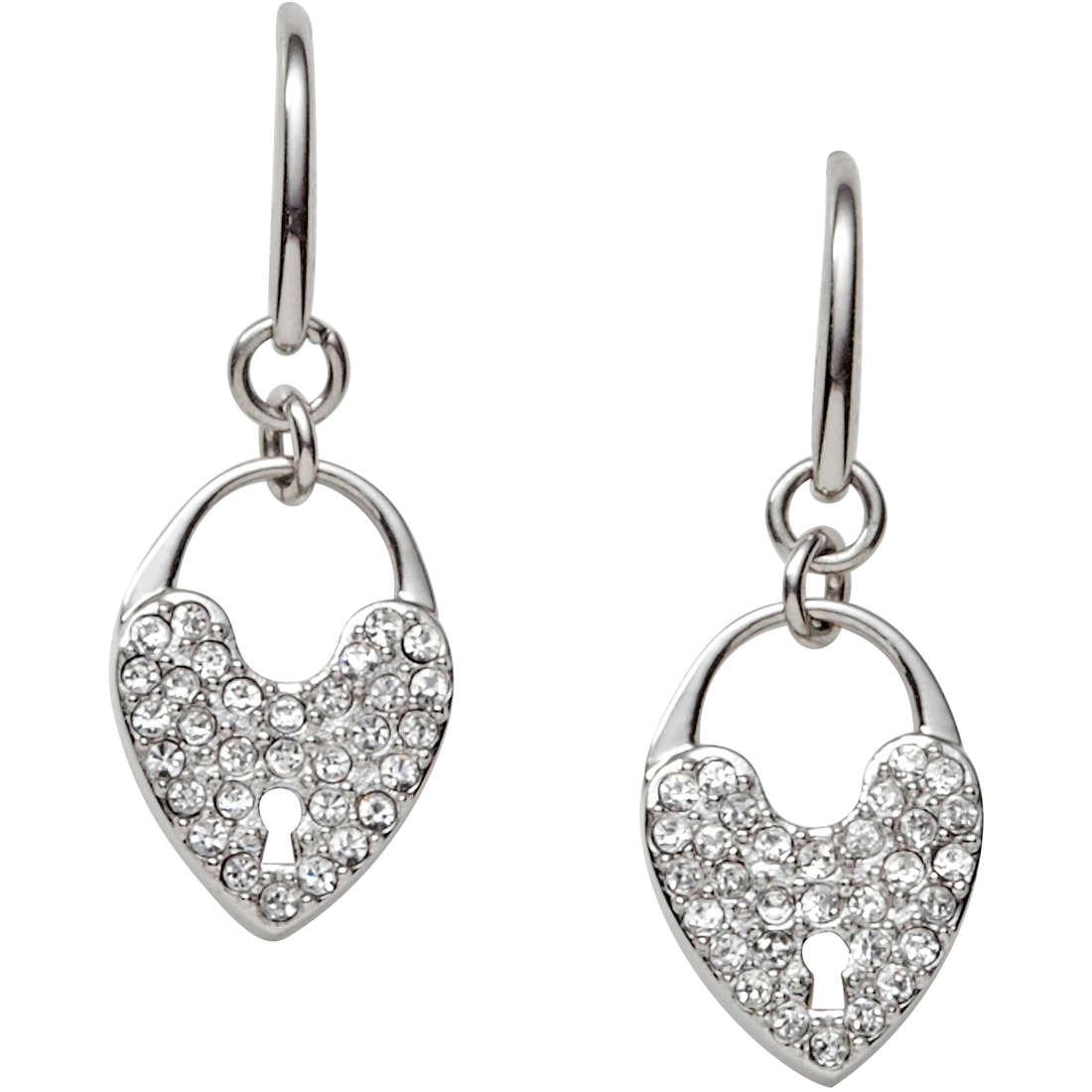 boucles d'oreille femme bijoux Fossil JF00285040