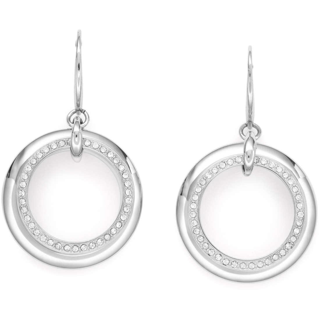 boucles d'oreille femme bijoux Fossil JF00438040