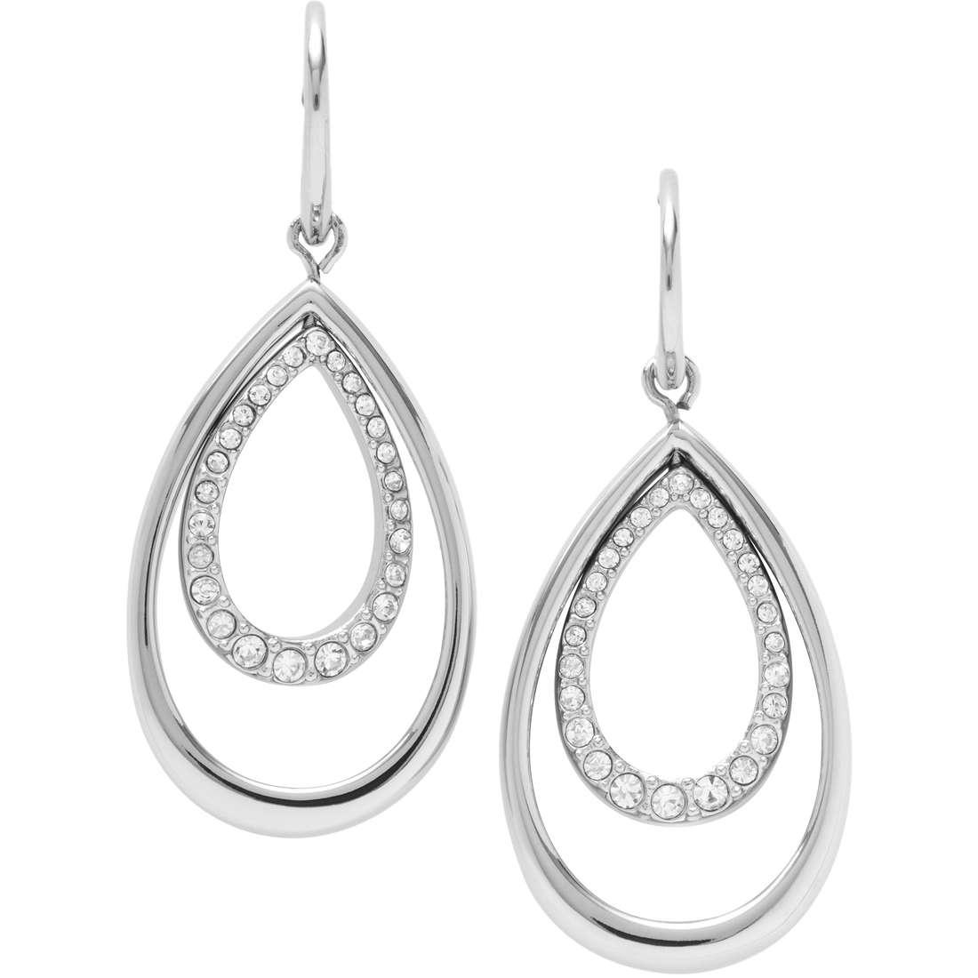 boucles d'oreille femme bijoux Fossil JF00446040