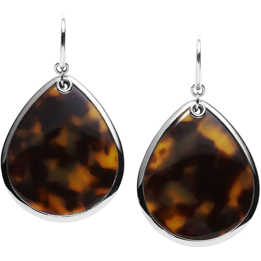 boucles d'oreille femme bijoux Fossil JF00574040